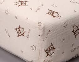 Muslin Crib Bedding Muslin Crib Sheet Etsy