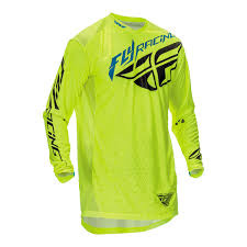 fly racing 2016 lite hydrogen motocross jersey stretch off road mx