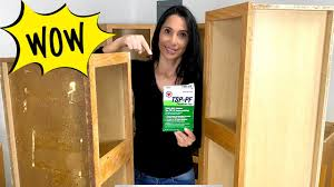 how to clean oak cabinets with tsp cleaning greasy cabinets with tsp before painting