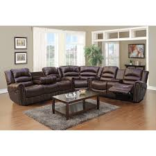 Leather Recliner Sofa Sets Sale Furniture Amazing Leather Reclining Sectional Sofa Design