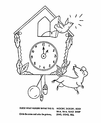 jack and jill nursery rhyme coloring page get coloring pages