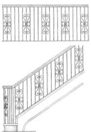 Grills Stairs Design 16 Best Wrought Iron Banister Images On Pinterest Banisters