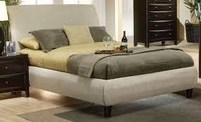 bedroom enchanting grey sheet platform bed with black wooden