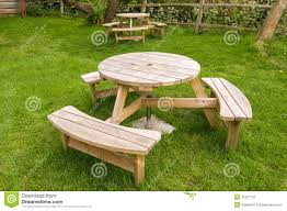 Wooden Table With Bench Garden Wooden Table Bench Garden Xcyyxh Com