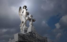 cemetery statues memorial day weeping at eternally eerie graveyards