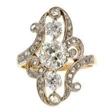 antique diamond engagement rings vintage engagement rings doyle u0026 doyle vintage estate jewelry