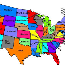 map of us states and capitals caribbean islands capitals quiz map of usa