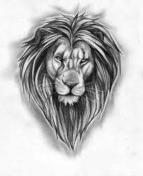 lion tattoo design discovered by johnnie on we heart it