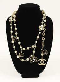 necklace with charms images Chanel convertible charm necklace belt jpg