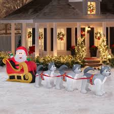 home depot inflatable christmas decorations wellsuited christmas outdoor inflatable decorations clearance
