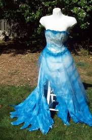 Wedding Dress Halloween Costume Ooak Vintage Corpse Bride Wedding Dress Gown Spiders Grave