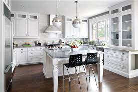great contemporary modern retro light kitchen and white vintage