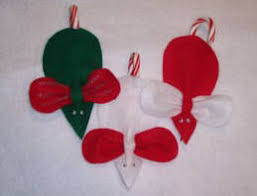 mouse ornament craft pattern