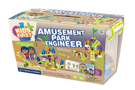 amazon com kids first amusement park engineer kit toys u0026 games