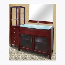 Glass Top Vanities Bathrooms Bathroom Vanities Modern Bath Vanity Glass Top And Sink Line