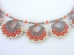 1260 best crafts jewelry bead weaving necklaces images on