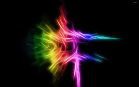 rainbow lights wallpaper abstract wallpapers 9522
