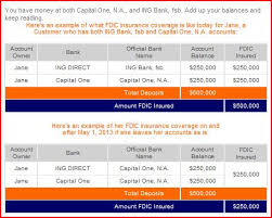 ing direct sede legale ing direct s merger into capital one will cause fdic coverage changes