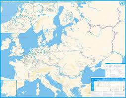 Bosporus Strait Map Detailed Map Of Navigable Inland Waterways Of Europe 2012