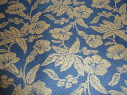 Indoor Outdoor Fabric For Upholstery Duralee Designer Fabric Yardage White And Blue Floral Indoor