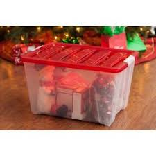 iris wing lid box with ornament dividers cranberry
