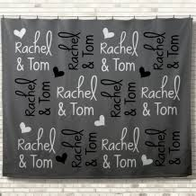 personalized wedding blankets custom wedding blanket gifts the blanket loft