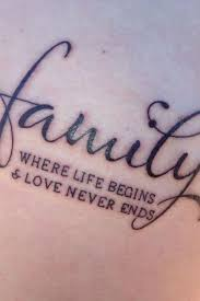 25 unique family quote tattoos ideas on pinterest tattoos about