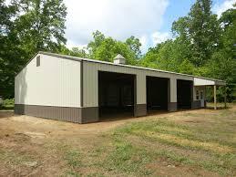 barns designs 40x60x12 with 8x12 shed post frame garage www nationalbarn com