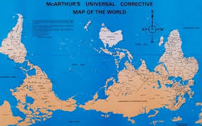 Universal Map Corrective Map Of The World Adventures In Grace