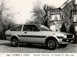 toyota automobiles press photo toyota corolla coupe gt te71 from netherlands