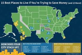 Cheapest Place To Live In Usa 10 Of The Worst Cities In America To Save Money