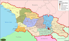 Tennessee Political Map by Political Map Of Abkhazia
