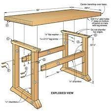 Simple Wood Bench Instructions by Free Blueprints For Picnic Tables Free Picnic Table Woodworking