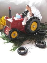 farm cake toppers tractor wedding cake toppers ireland sugar tractor wedding cake