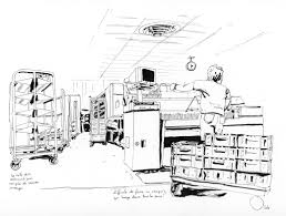 bureau de dessin en b iment sketchers cartes de vœux