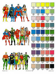 1980s colors 1980s dc comics color guide general design chris creamer s