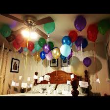 birthday balloons for him birthday decoration ideas at home for boyfriend luxurious braesd