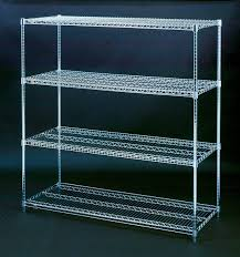 Wire Shelf Units Stainless Steel Wire Shelving Units With Classy Design Of Chrome