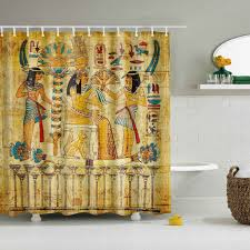 Ancient Egypt Interior Design Ancient Egypt Mural Artsy Shower Curtain Gojeek
