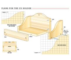 Simple Plans For Toy Box simple cd holder for kids u2013 canadian home workshop
