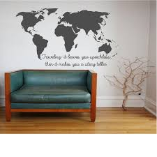 World Map Decal by World Map Traveling It Leaves You Speechless And Then Makes