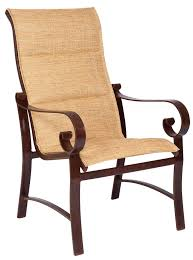 Woodard Patio Furniture Reviews - woodard belden sling dining chair all things barbecue