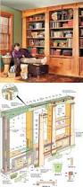 Leaning Bookshelf Woodworking Plans by Best 25 Bookcase Plans Ideas On Pinterest Build A Bookcase