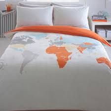 World Map Duvet Cover by Around The World Duvet Cover Sweetgalas