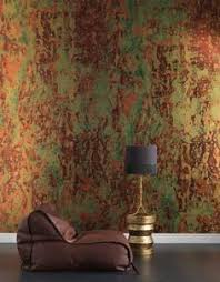 Copper Walls Love This For The Lr Fireplace And Wall But In Metal I Think