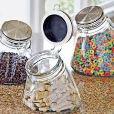 glass kitchen canisters airtight glass pot by massimo castagna gadgets kitchen