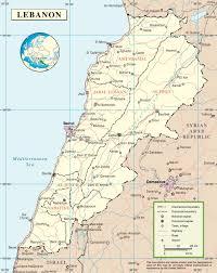 lebanon on the map lebanon world map besttabletfor me