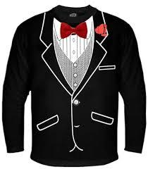 tuxedo shirts all occasion formal tuxedo sleeve t shirt