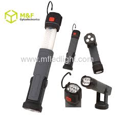 rechargeable magnetic work light telescopic work light with magnet from china manufacturer ningbo