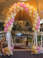 wedding balloon arches uk balloon decorations in from balloon decorators balloons r us
